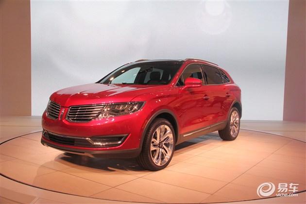 林肯MKX将亮相上海车展 或8月正式上市