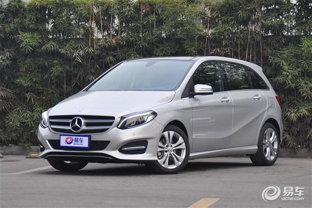 奔驰B级新增B 180入门级车型 售24.2万元