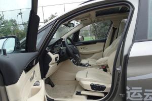 宝马2系运动旅行车(进口)前排空间图片