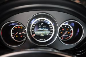 进口奔驰CLS级AMG 仪表盘背光显示