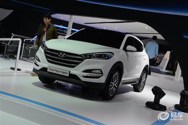 北京现代全新SUV亮相 定名全新途胜