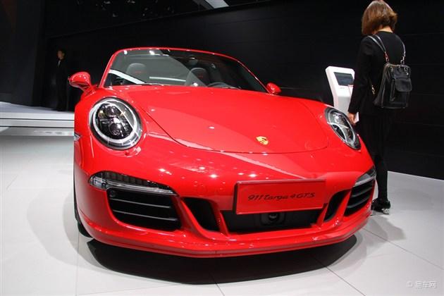 2015上海车展 保时捷911Targa 4 GTS亮相