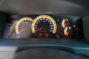 比亚迪F3 仪表盘背光显示