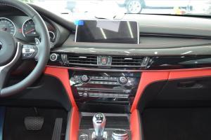宝马X5 M中控台正面图片