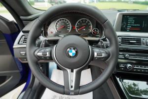 进口宝马M6 方向盘