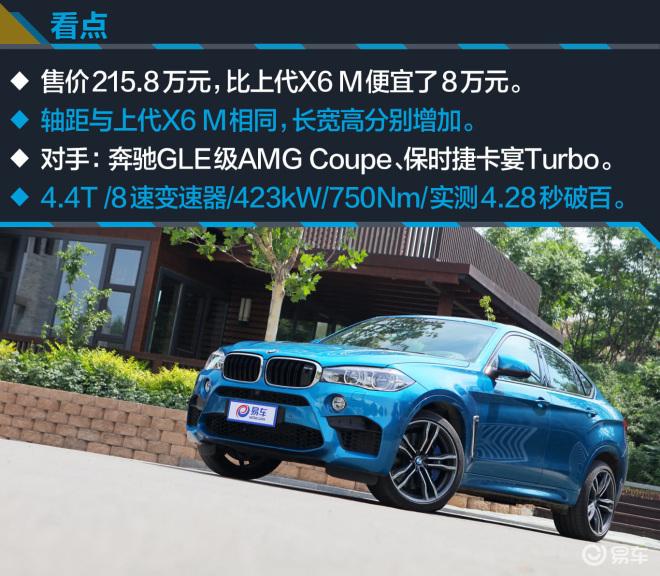 宝马X6 MX6 M图解