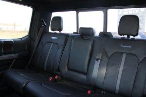 进口福特F系列 后排座椅