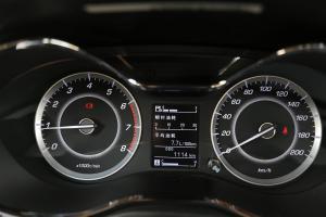 宝骏560仪表盘背光显示图片