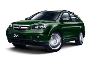 比亚迪S6 墨绿色