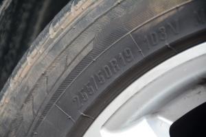 X7轮胎规格