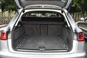 进口奥迪A6 行李箱空间