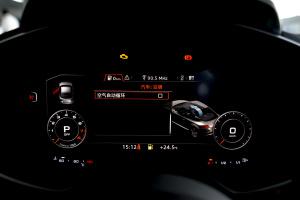 进口奥迪TT 仪表盘背光显示