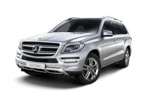 进口奔驰GL级 铱银色