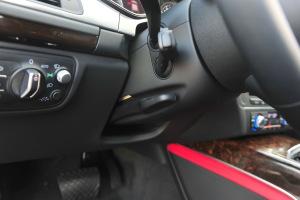奥迪A7方向盘调节键图片