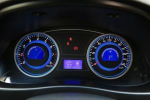 吉利EC8仪表盘背光显示图片