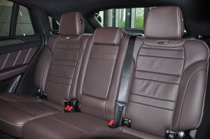 进口奔驰GLE级AMG轿跑SUV 后排座椅