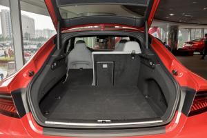 进口奥迪S7 行李箱空间(后排左放倒)