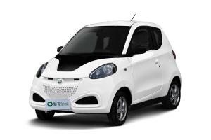 知豆电动车 白色