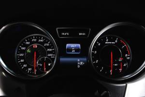 进口奔驰GLE级AMG 仪表盘背光显示
