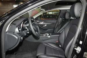 奔驰C级旅行轿车(进口)前排空间图片