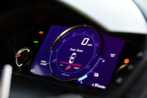 进口讴歌NSX 仪表盘背光显示