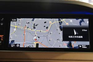 迈巴赫S级中控台音响控制键图片