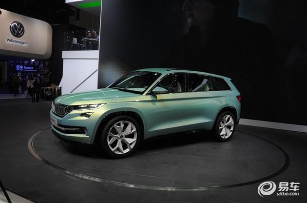 斯柯达新SUV定名Kodiaq 2016年下半年首发