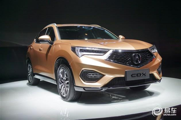 曝讴歌CDX预售价/配置 入门低于25万元