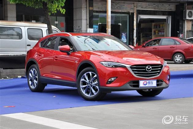 马自达CX-4 6月21日上市 预售14.18万元起