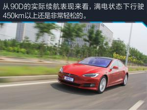 MODEL S评测特斯拉Model S 90D 加速快还能走更远