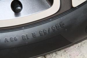 自由侠轮胎规格