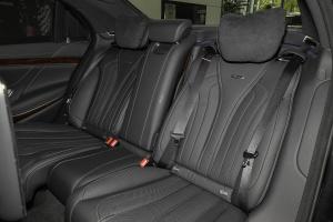 AMG S级后排座椅