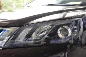 帝豪EV300大灯侧45度俯拍