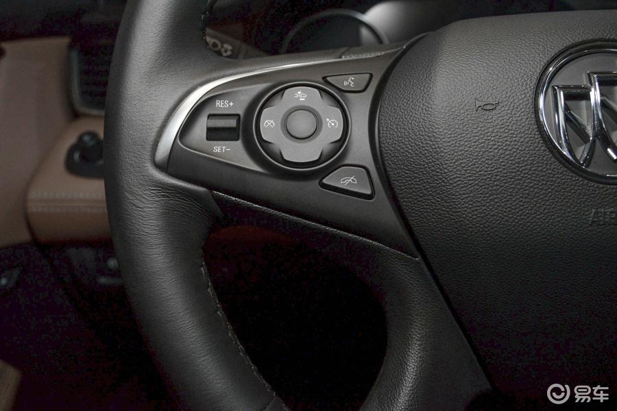 【君越2016款28t 豪华型方向盘功能键(左)汽车图片