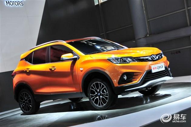 东南DX3将推6款车型 预售7.29万-9.99万元