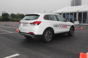 汉腾X7 后45度(车头向右)