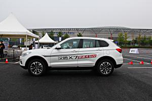 汉腾X7 正侧(车头向左)