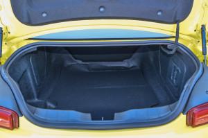 科迈罗(进口)行李箱空间图片