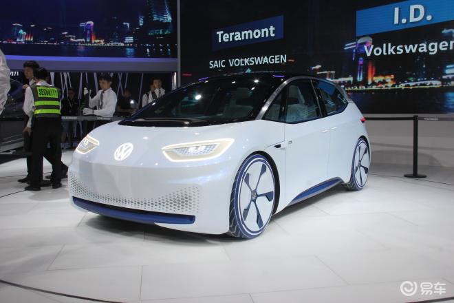 大众I.D.概念电动车