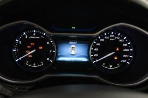 吉利帝豪RS 仪表盘背光显示