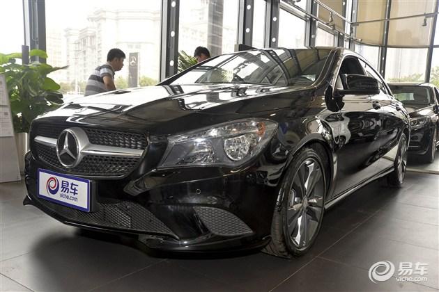 奔驰新款CLA级上市 售24.7万-37.8万元