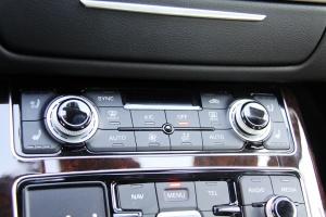 A8L中控台空调控制键