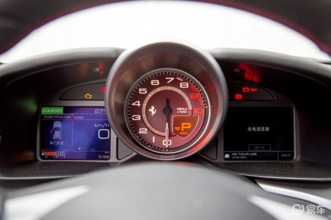 法拉利GTC4LussoGTC4Lusso仪表盘