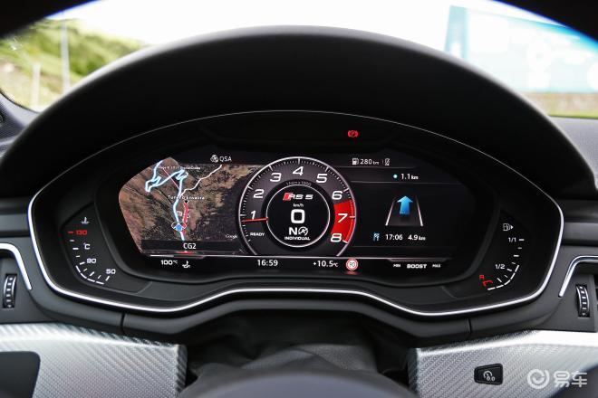 奥迪RS 5RS 5仪表盘