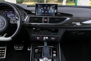 奥迪RS 6中控台整体图片