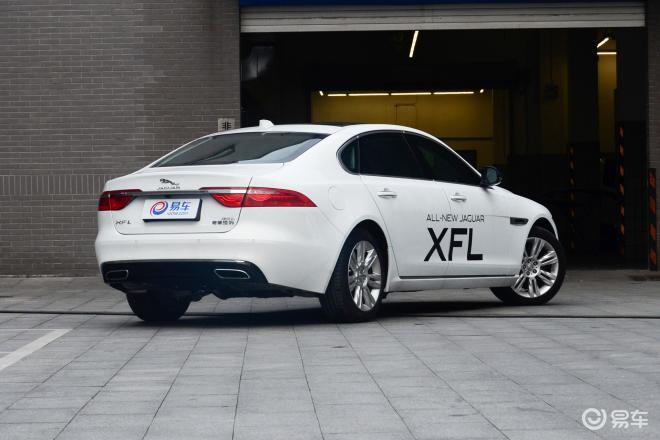 捷豹XFLXFL侧后45度车头向右水平