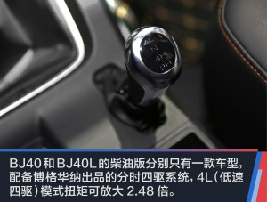 BJ40实拍北京汽车BJ40L柴油版