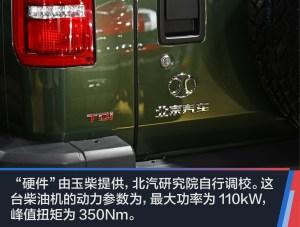 北京BJ40实拍北京汽车BJ40L柴油版图片