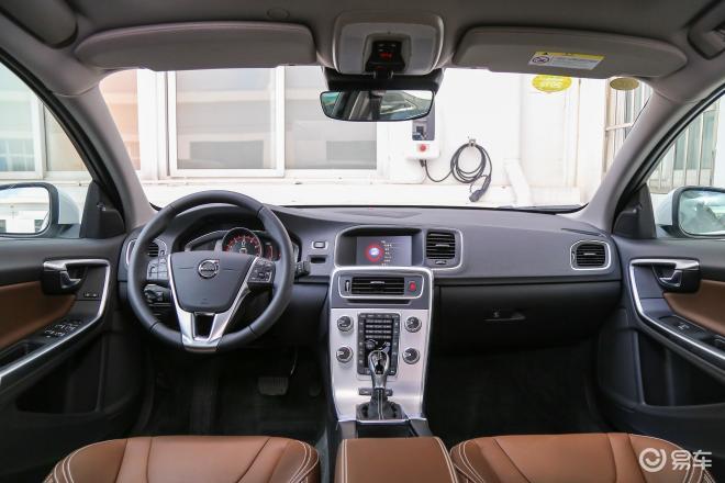 沃尔沃S60 插电混动沃尔沃S60 插电混动内饰全景正拍