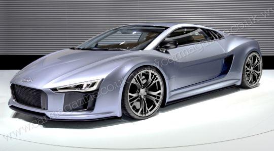 2014年奥迪将推全新一代R8  动力更强劲